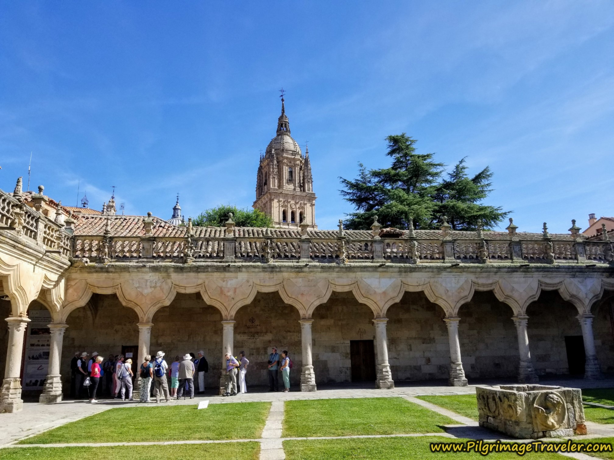 Courtyard, Escuela Menores de la Universidad de Salamanca