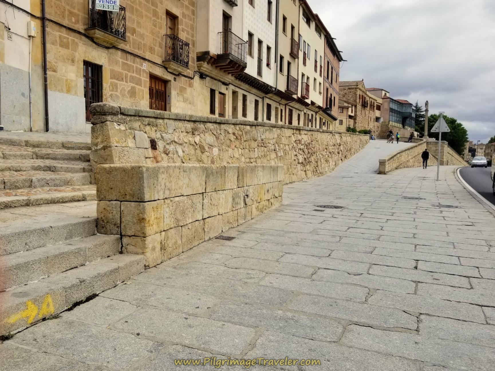 Left Turn Onto Calle Ribera del Puente