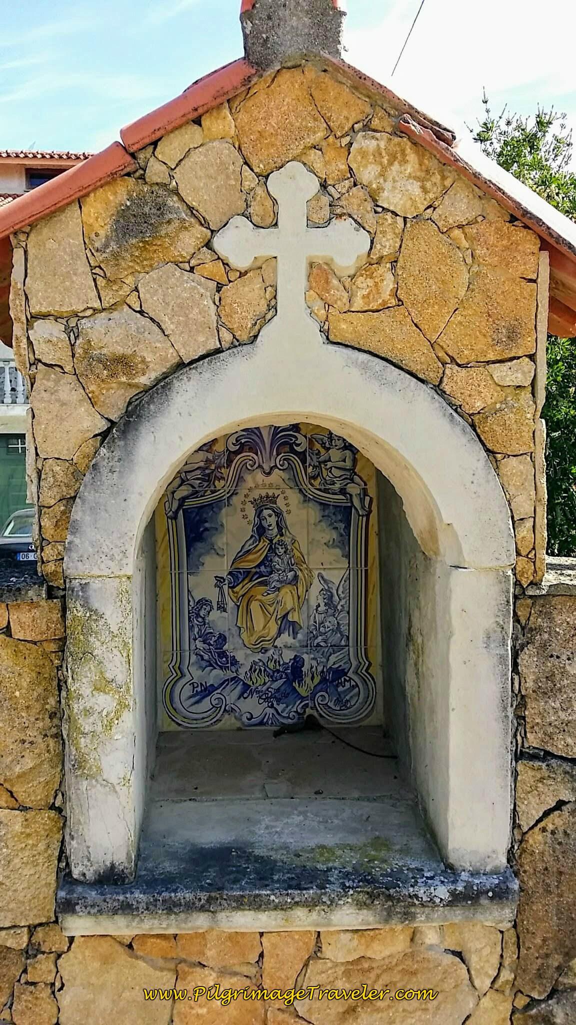 Roadside Shrine to Fátima