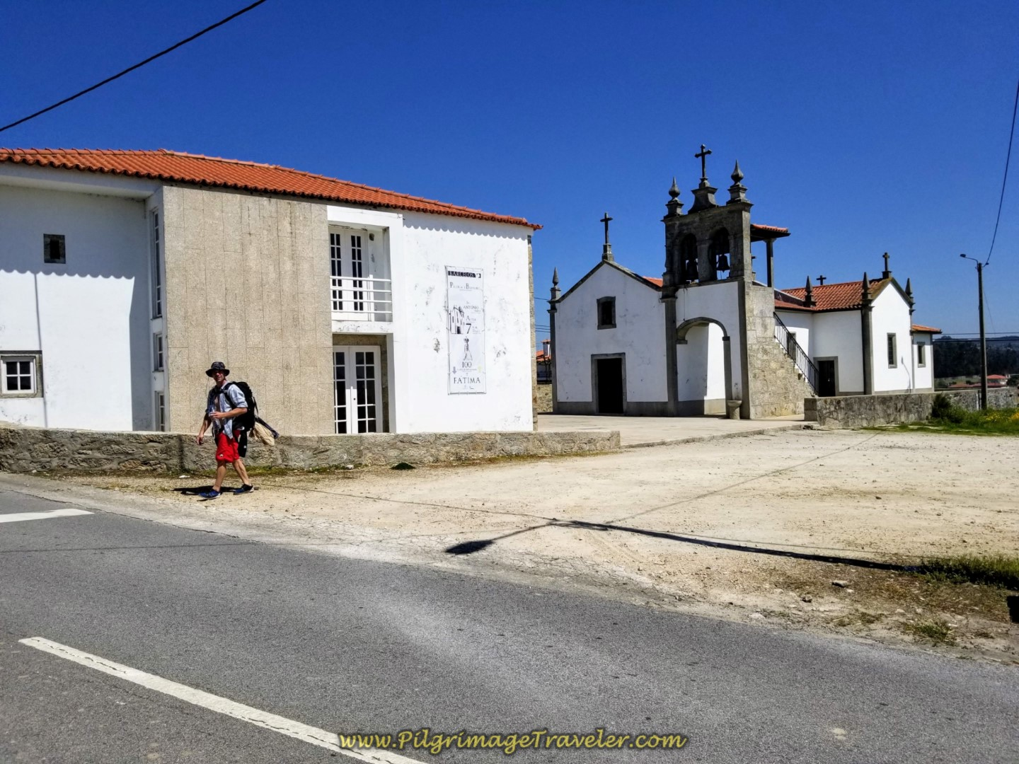 Albergue António in Pedra Furada on day sixteen on the Central Route of the Portuguese Way
