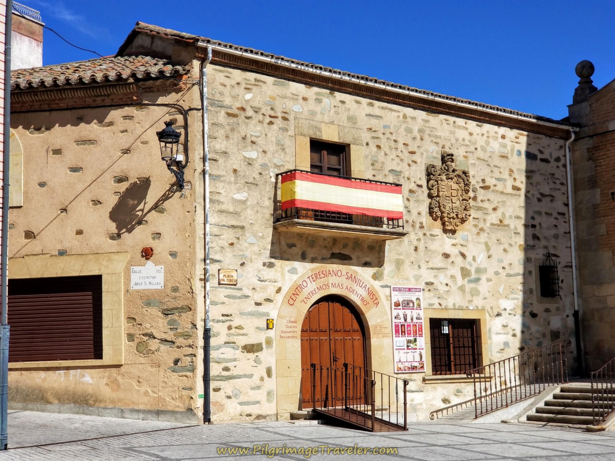 Centro Teresiano Sanjuanista in the Plaza Santa Teresa, Alba de Tormes