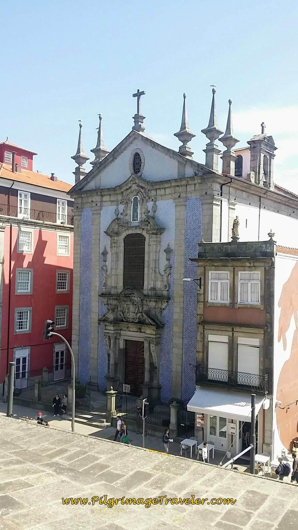 Igreja Paroquial de São Nicolau in Porto, Portugal