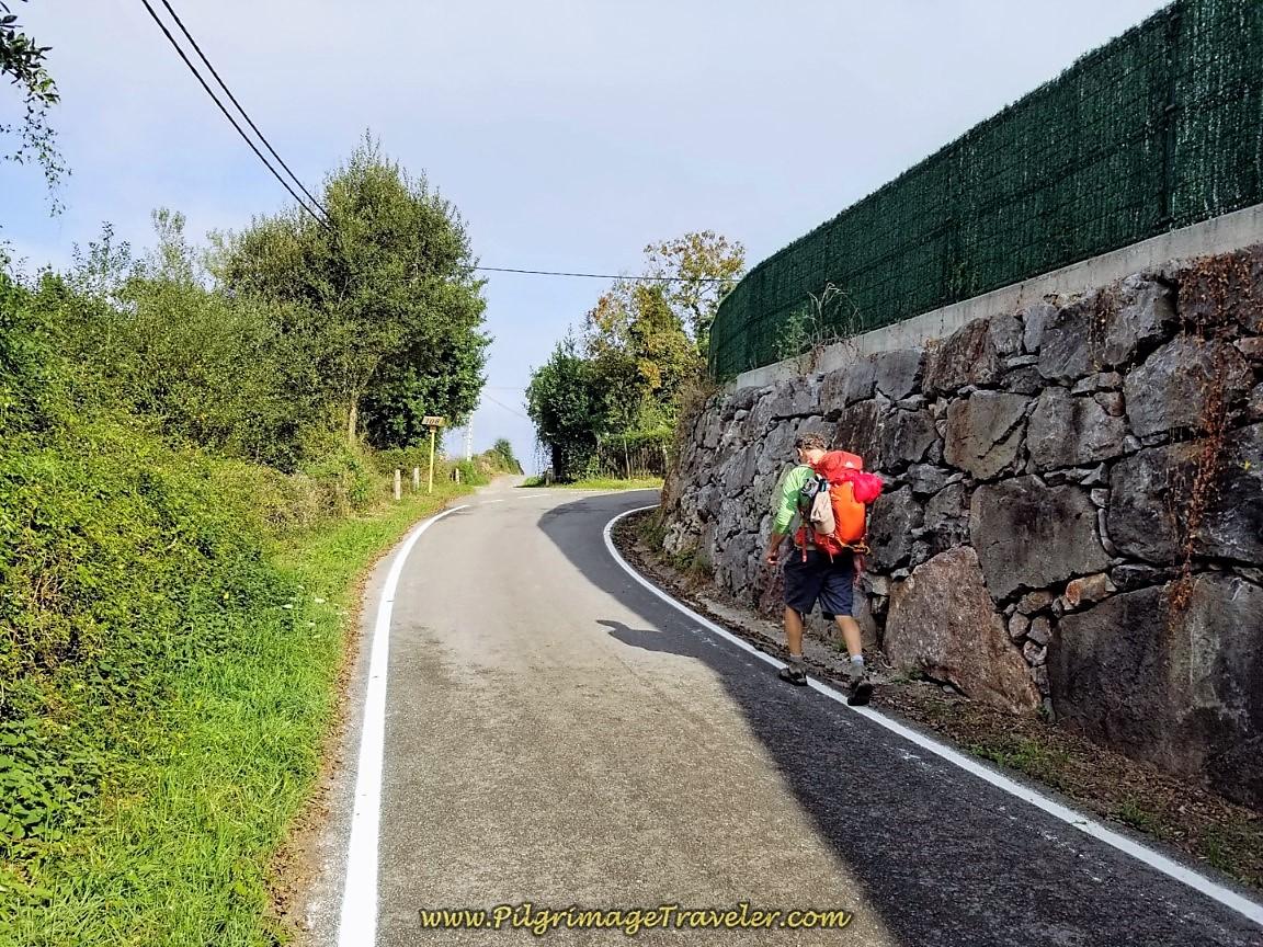 Keep Climbing Towards Venta del Aire