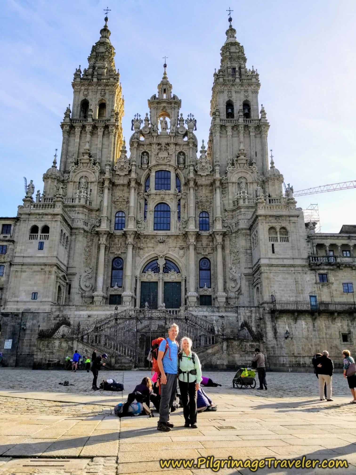 Rich and Elle, Catedral de Santiago de Compostela