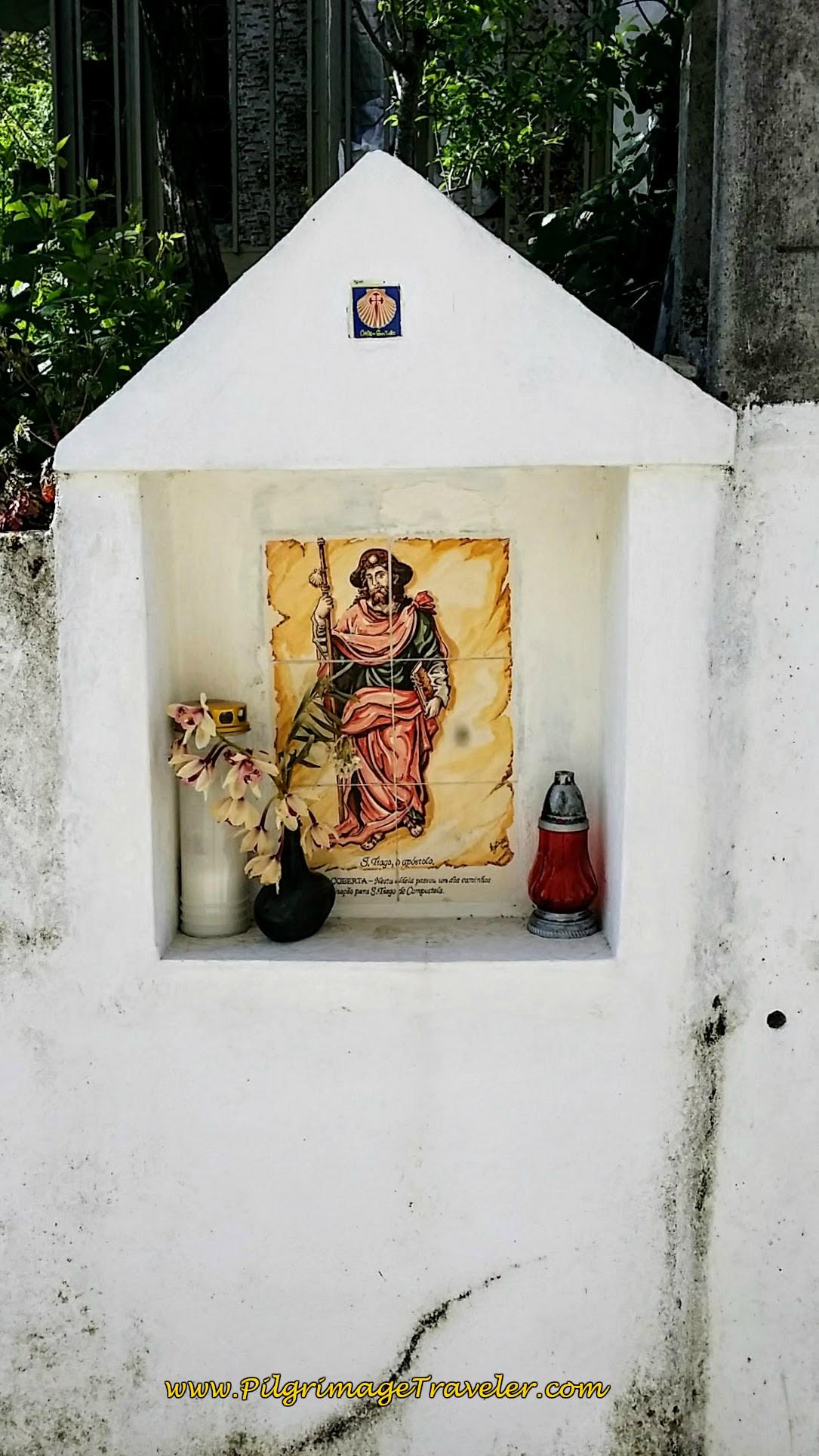 Roadside Shrine to Santiago