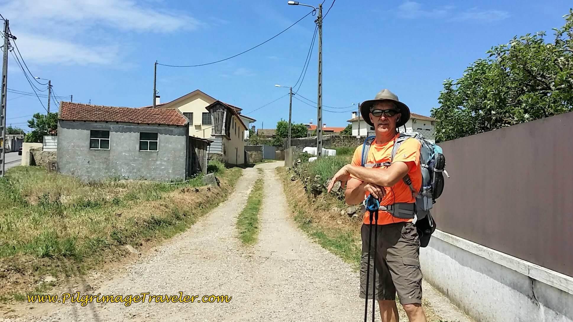 Turn Right on Lane on day thirteen of the Camino Portugués