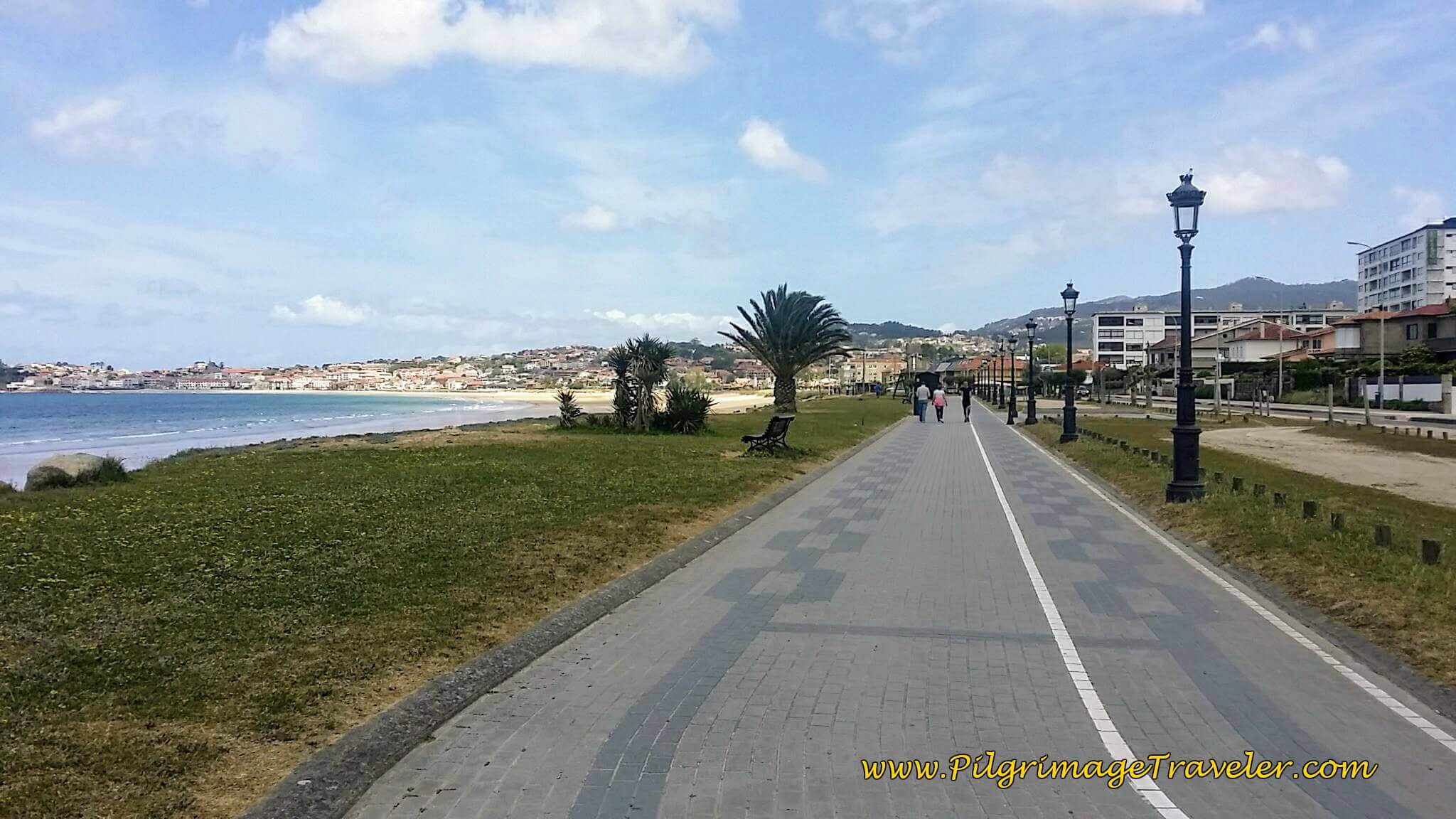 Promenade to the Praia America on day twenty, Camino Portugués on the Senda Litoral