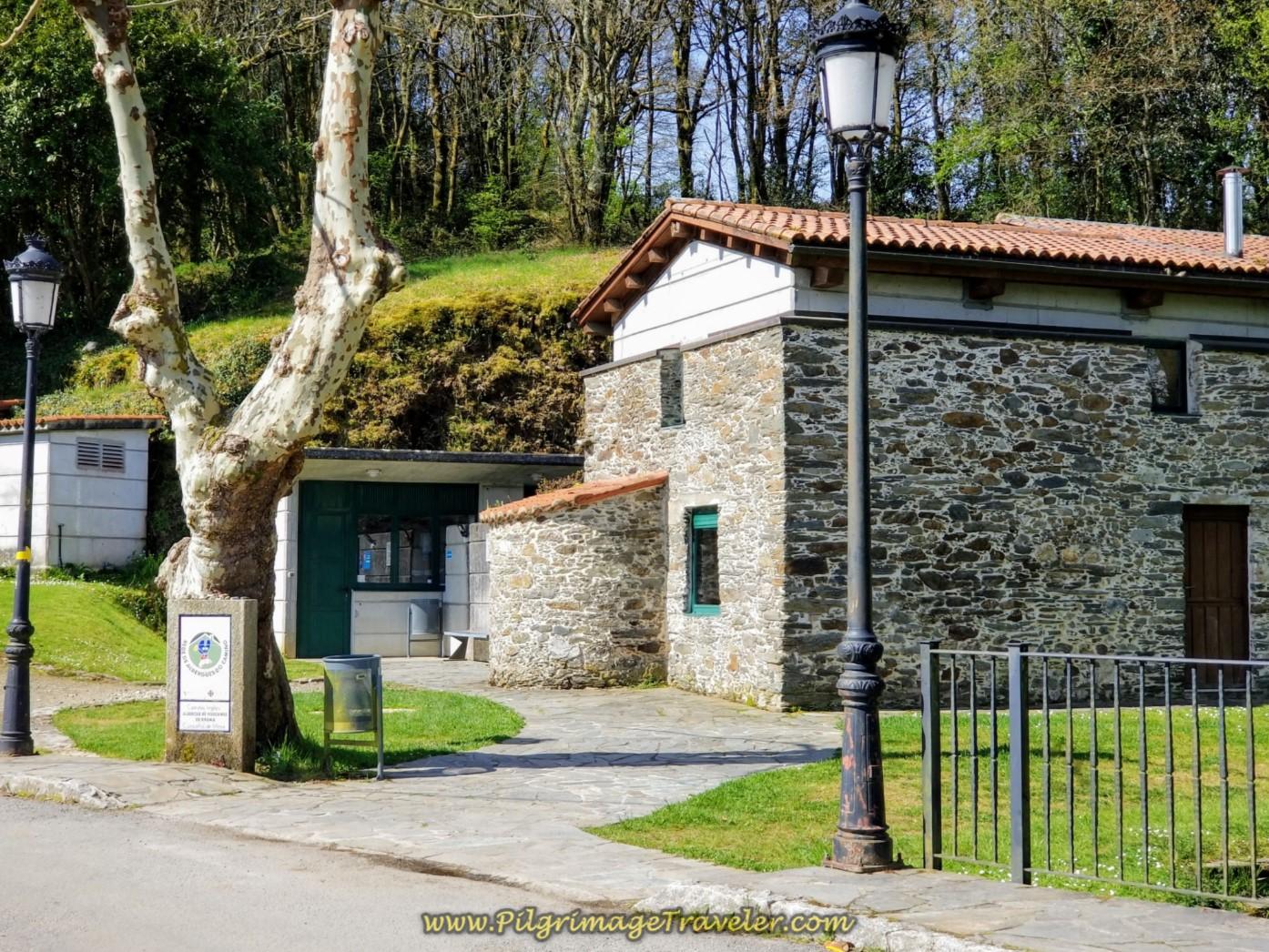 Albergue de Hospital de Bruma on day six of the English Way
