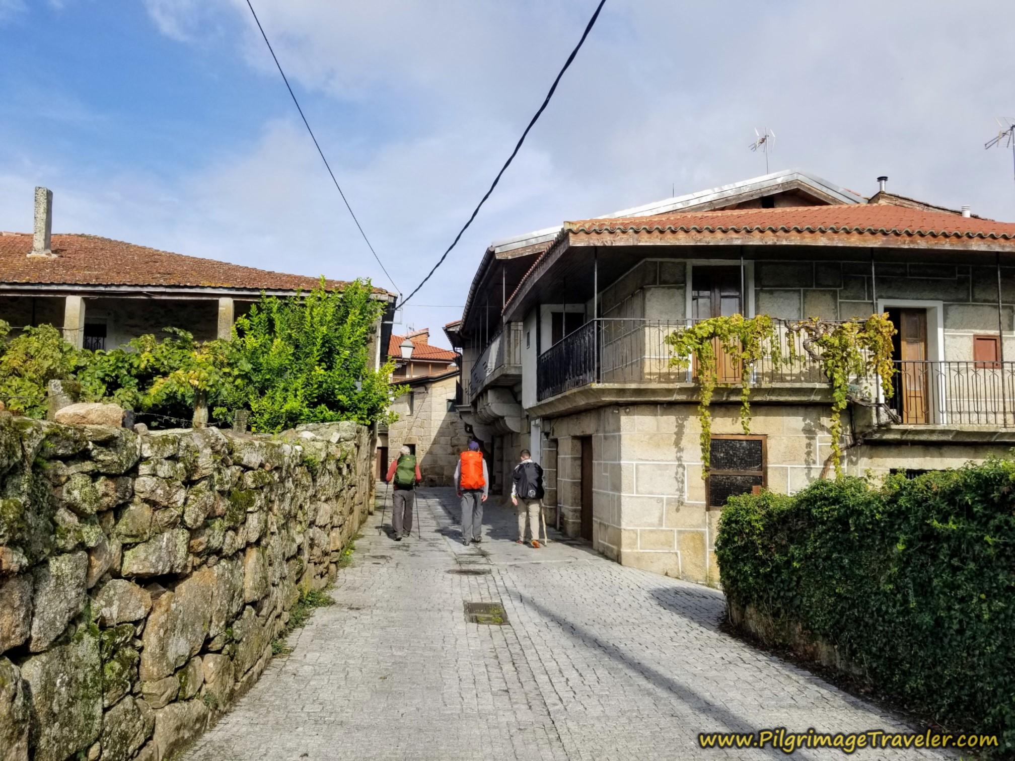 Entering the Medieval Town of Seixalbo