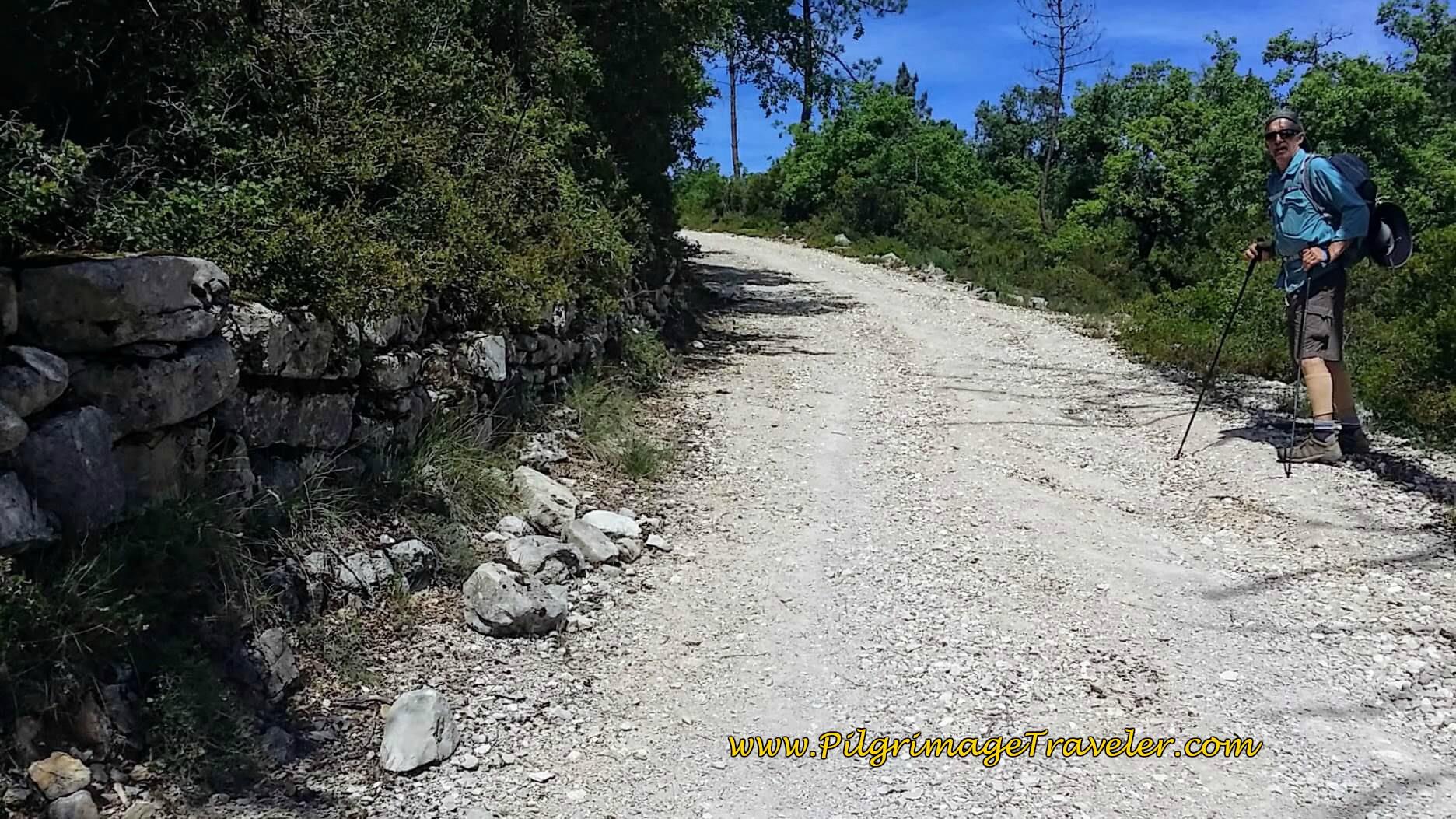 Gravel Road Towards Alvorge, Portugal