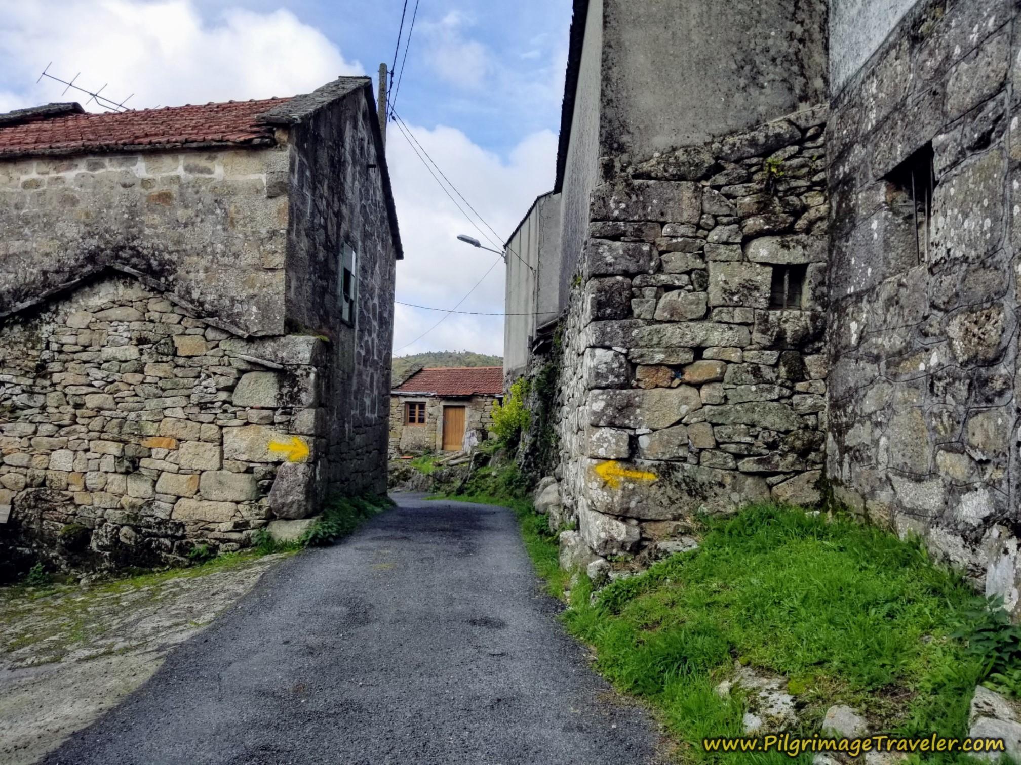 The Narrow Road Through Carballediña
