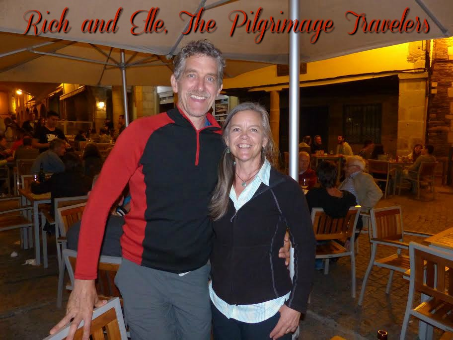 Photo of Rich and Elle in Lugo, Spain