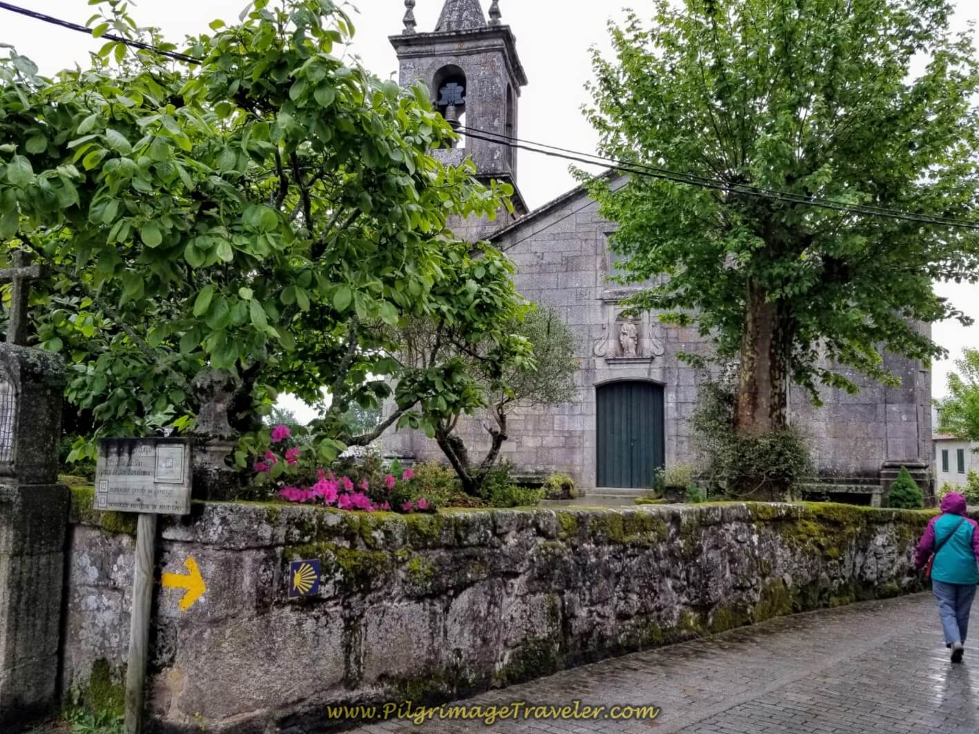 Igrexa de San Bartolomeu in Tui, on day twenty on the central route of the Portuguese Camino