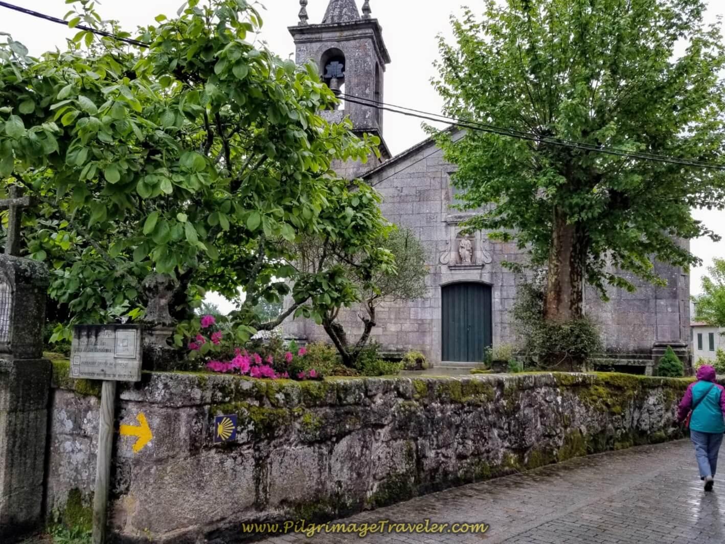Igrexa de San Bartolomeu in Tui, on day twenty on the central route of the Portuguese Camino