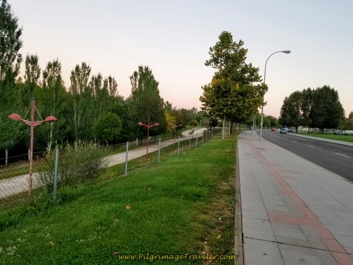 Riverwalk Parallels the Camino de San Salvador