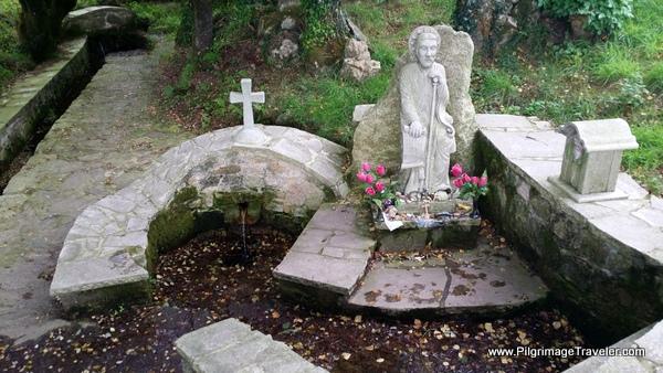 Fountain at San Xorxe de Aguas Santas
