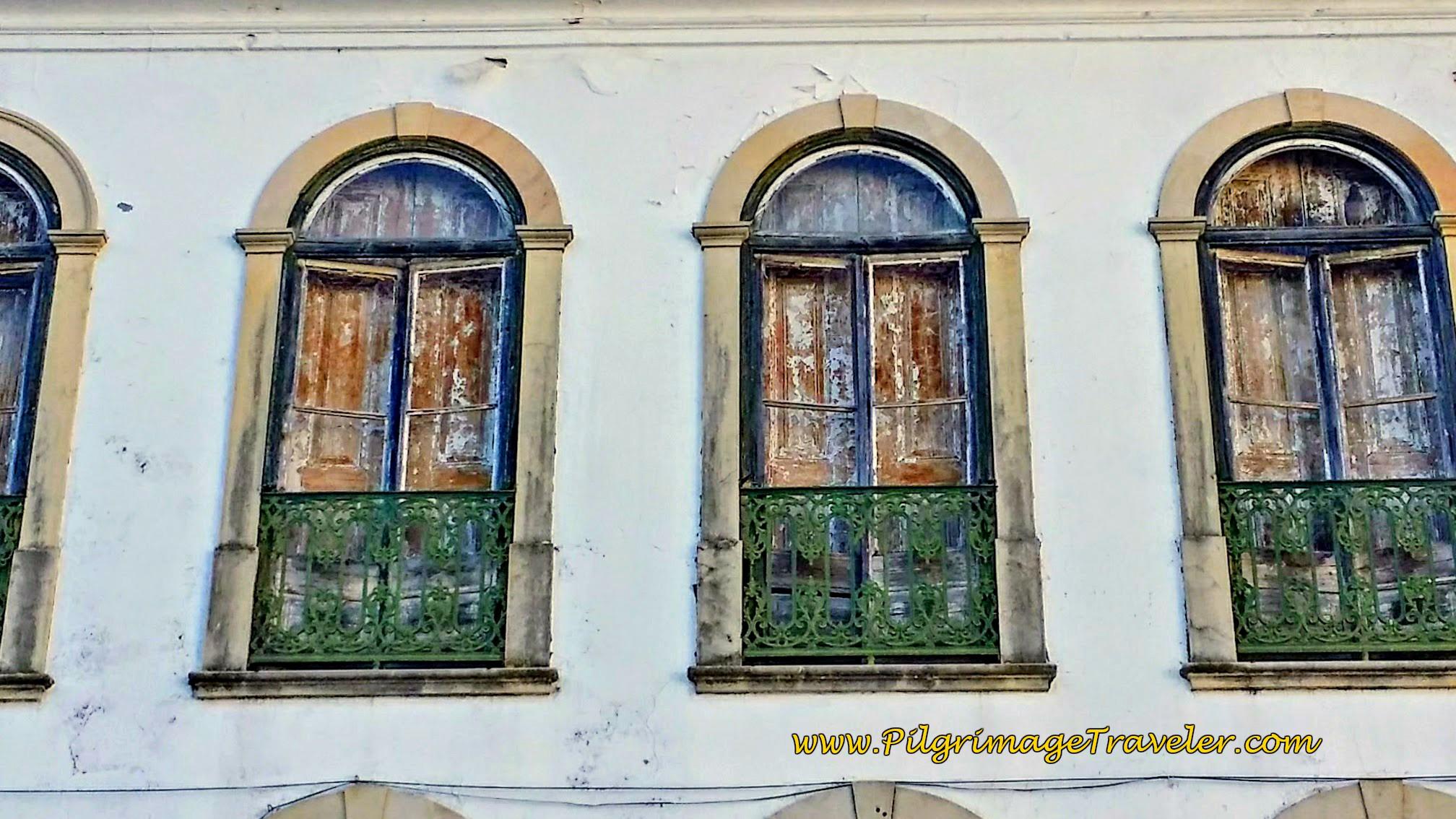 Close-Up of the Windows at Café Pepe's