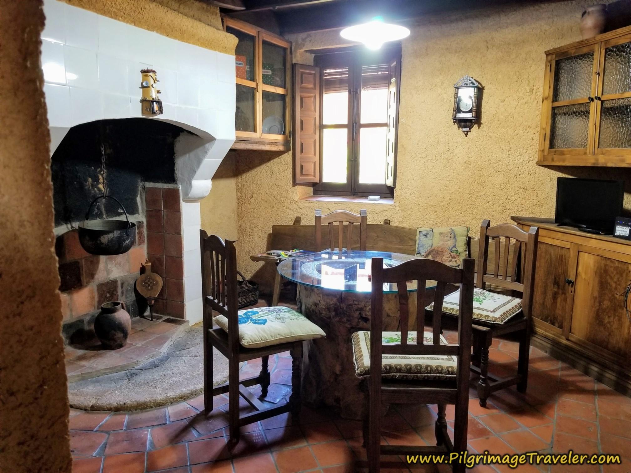La Casa del Tío Quico Indoor Dining Area