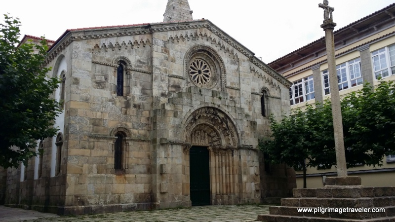Iglesia de Santa Maria del Campo, La Coruña, Galicia, Spain