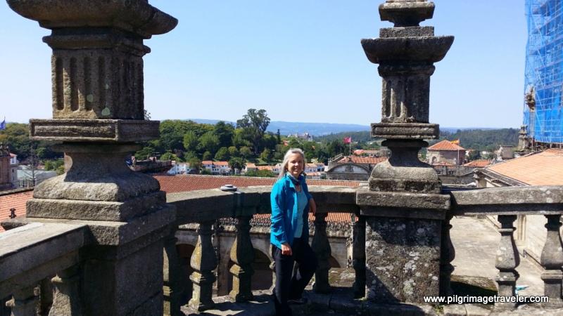 Rooftop Balustrade, Cathedral de Santiago de Compostela, Spain