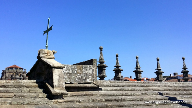 Rooftop Fire Pit, Cathedral of Santiago de Compostela Spain