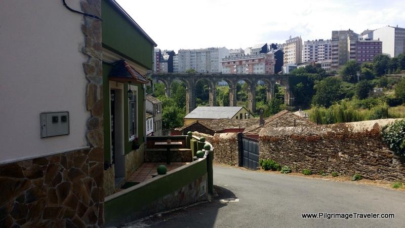 The Descent Before the City of Lugo on the Camino Primitivo