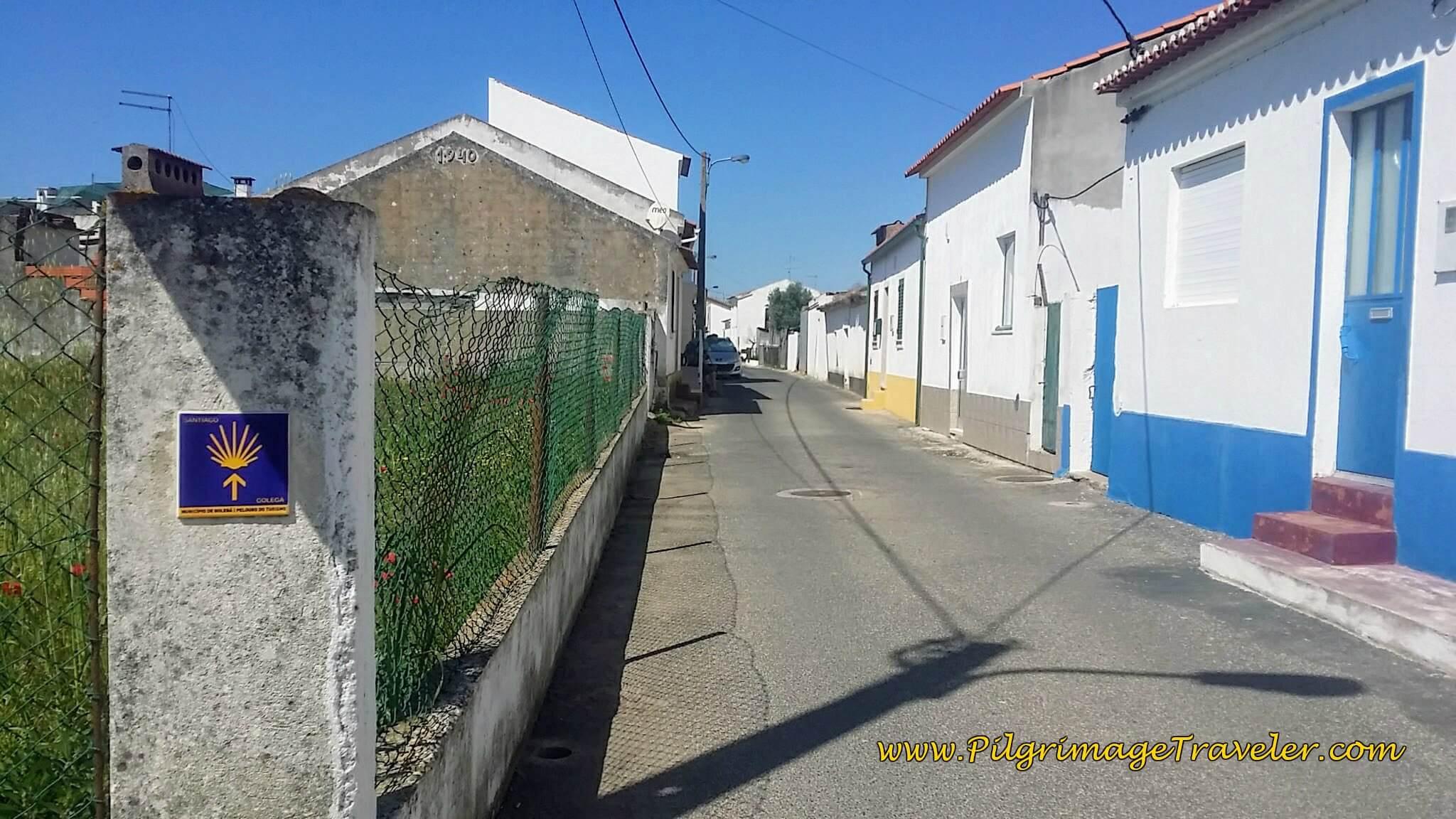 Walking Through Azinhaga on the Rua do Calcanhar
