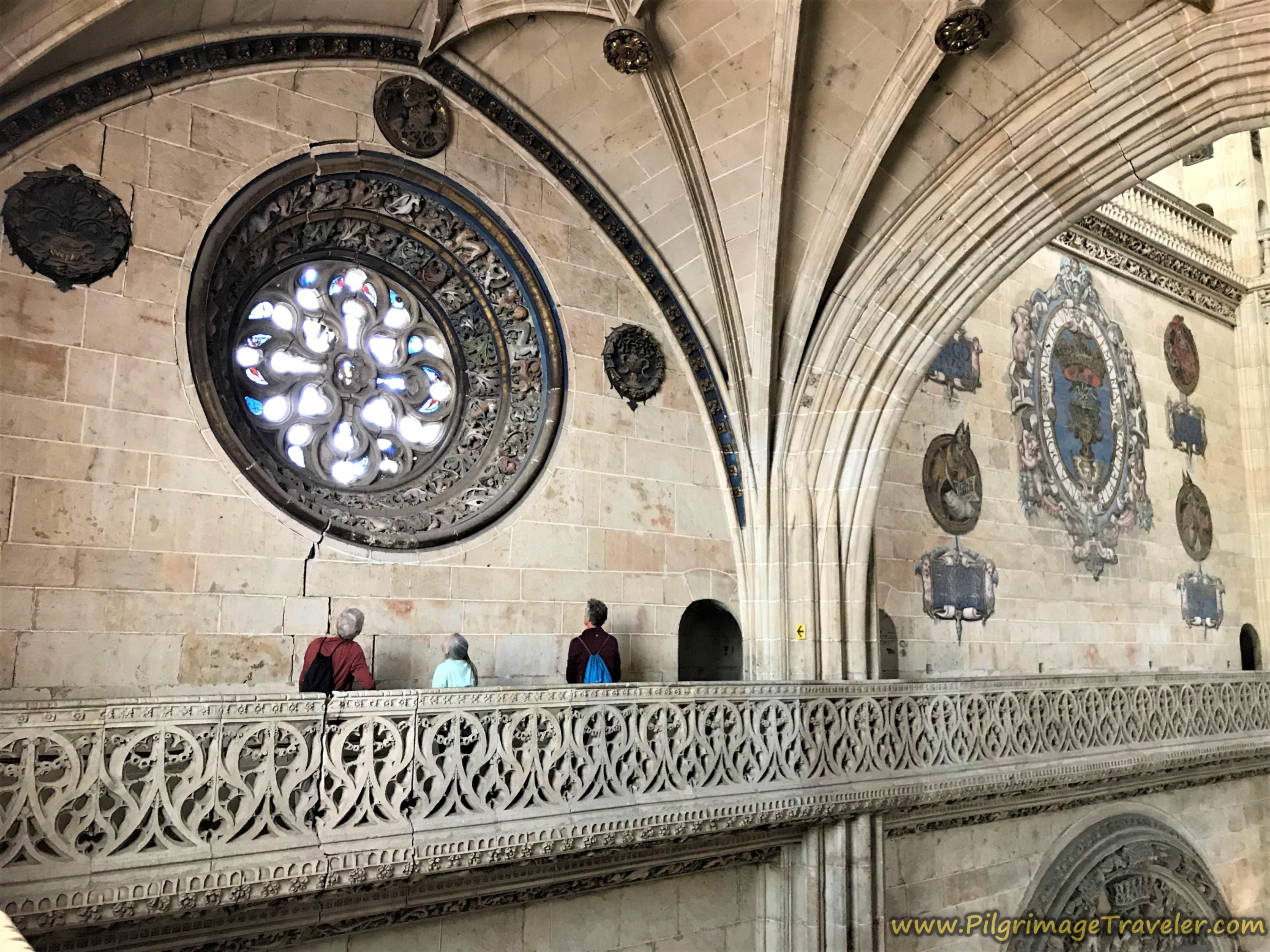 Cathedral of Salamanca Catwalk