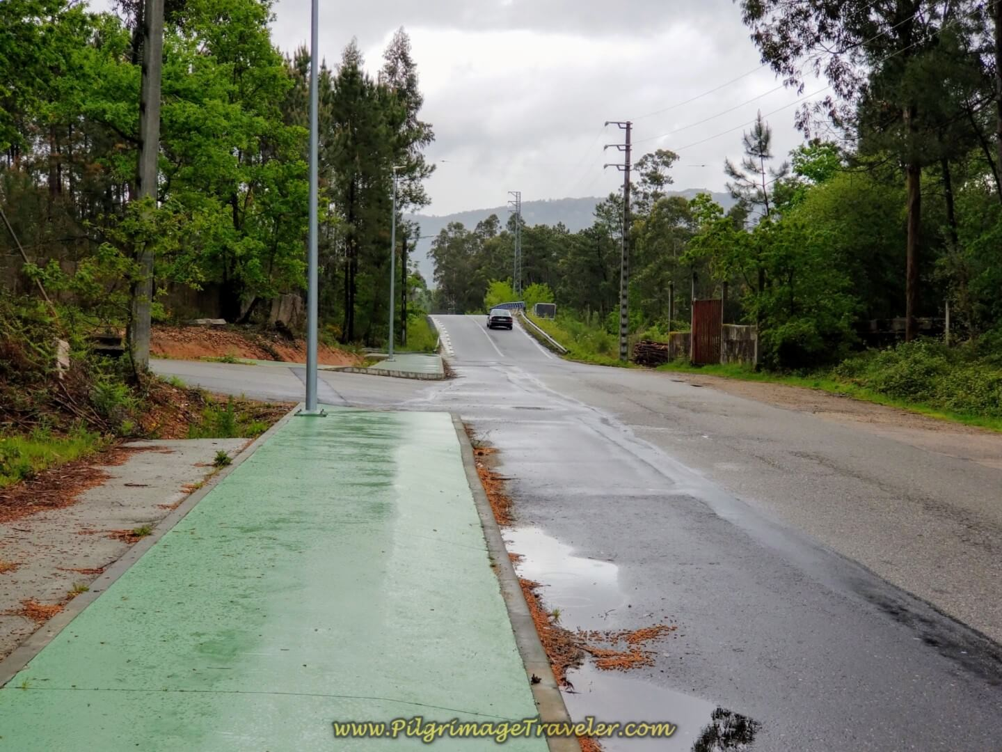 A Pilgrim's Green Beltway on day twenty on the central route of the Portuguese Camino
