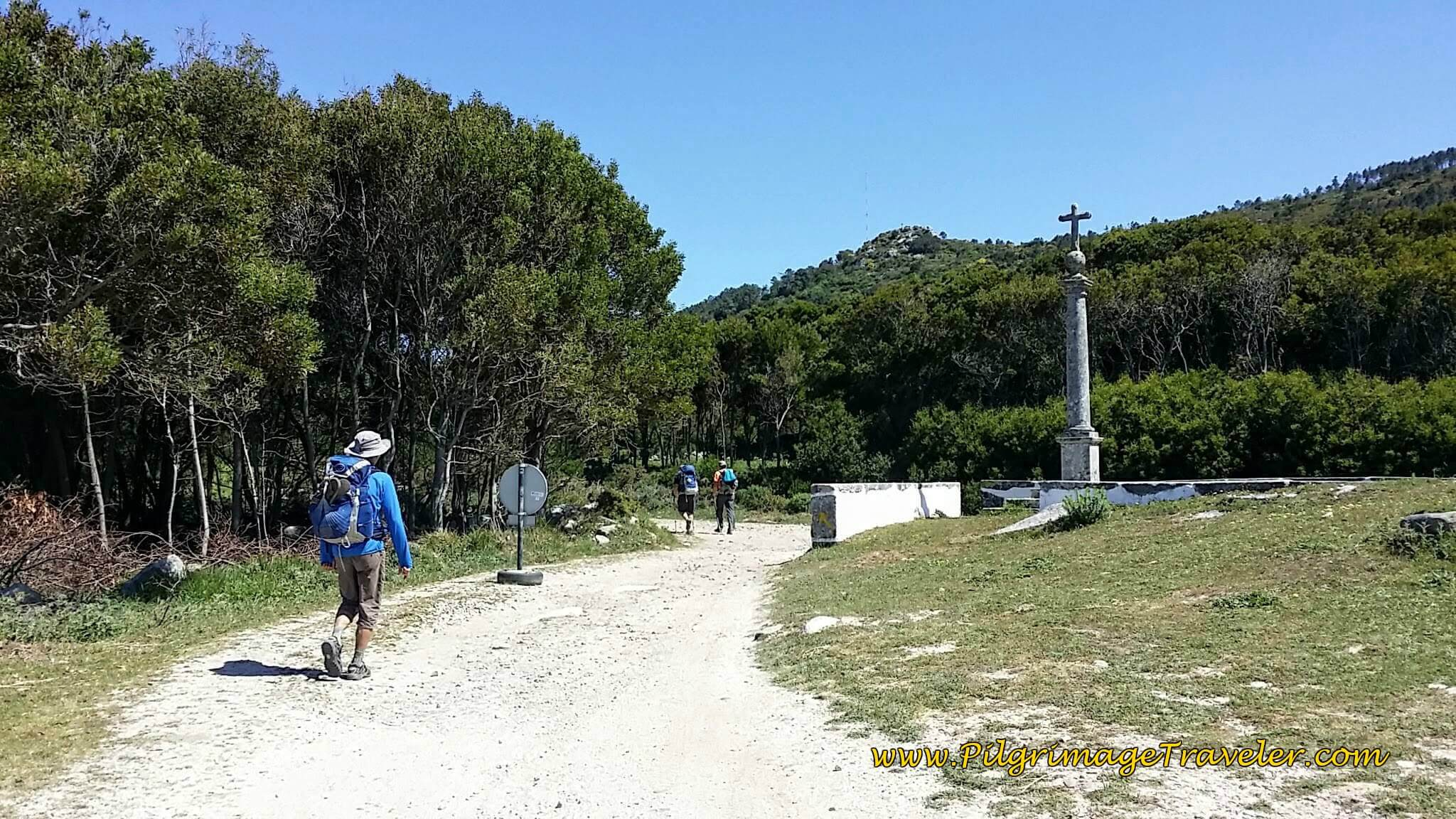Join Railroad Tracks at Cruzeiro de Santo Isidoro on day eighteen of the Camino Portugués on the Coastal Route