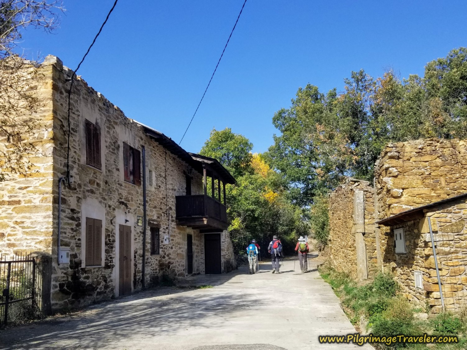 Walking Through Triufé on the Camino Sanabrés from Entrepeñas to Puebla de Sanabria
