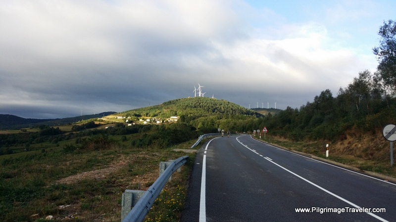 Windmills Ahead on the AS-28, Asturias, Spain