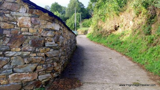 Around the Wall and into the Forest at Peñafonte, Asturias, Spain