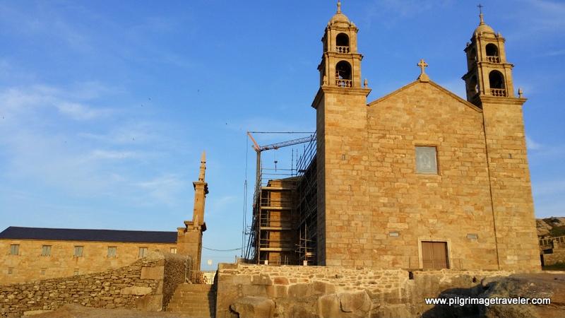 The Nosa Señora da Barca Church at Sunset, Muxía, Spain