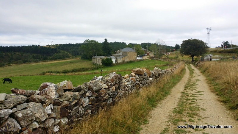 Path to Fonfría, along the Primitive Way