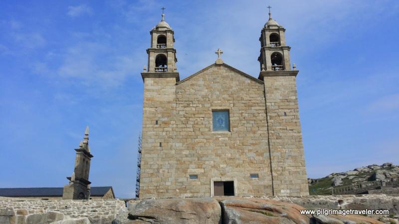 Front View of the Nosa Señora da Barca Church, Muxía, Spain