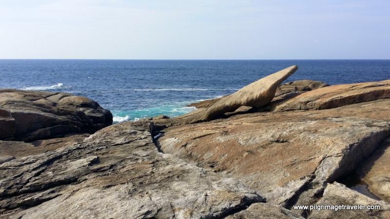 Pedra da Abalar and the Costa da Morte, Muxia, Spain