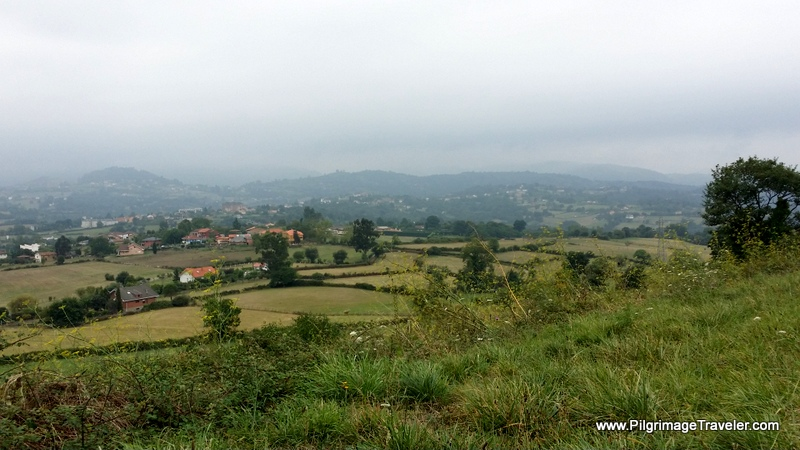 Misty Asturian Countryside, Asturias, Spain