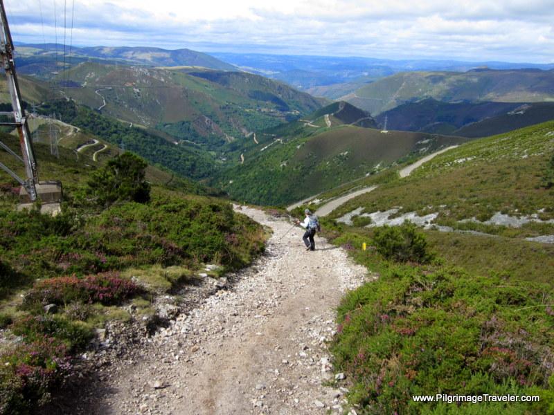 The Steep Descent Towards Montefurado