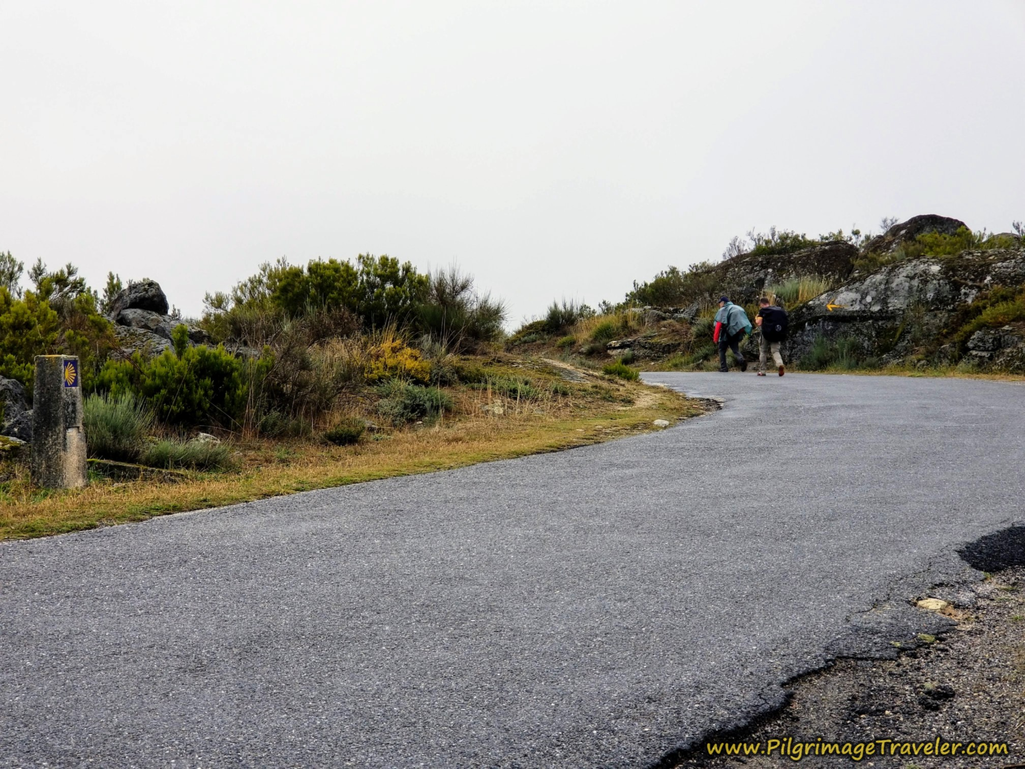 Join the Pavement of the OU-0953 on the Camino Sanabrés from Lubián to A Gudiña