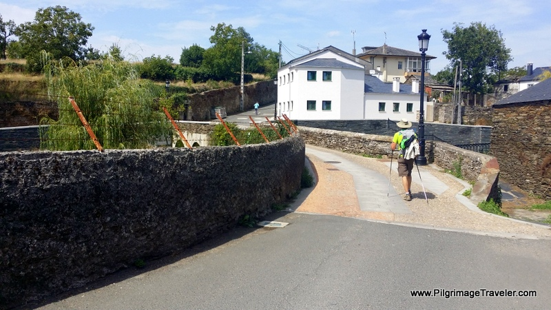 Across the Bridge into Lugo, Spain on the Camino Primitivo