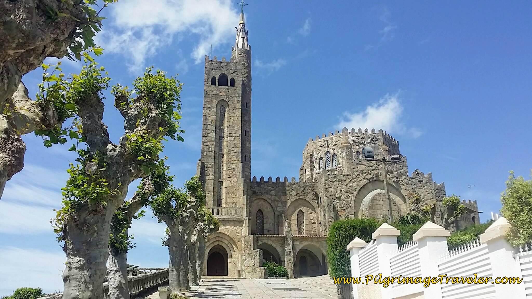 Parroquia de San Xoán de Panxón on day twenty, Camino Portugués on the Senda Litoral