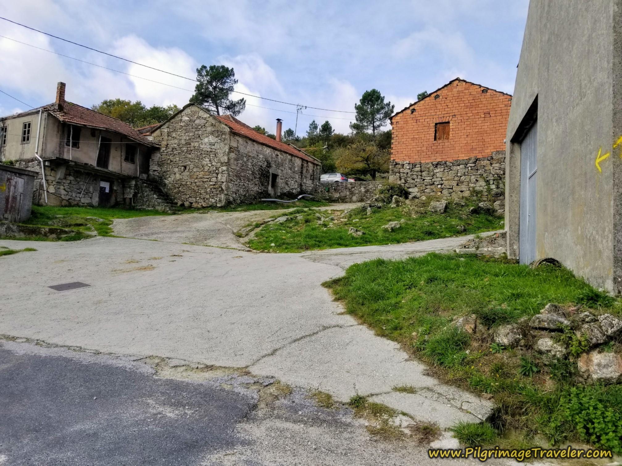 Right Turn Through Outerio de Coiras
