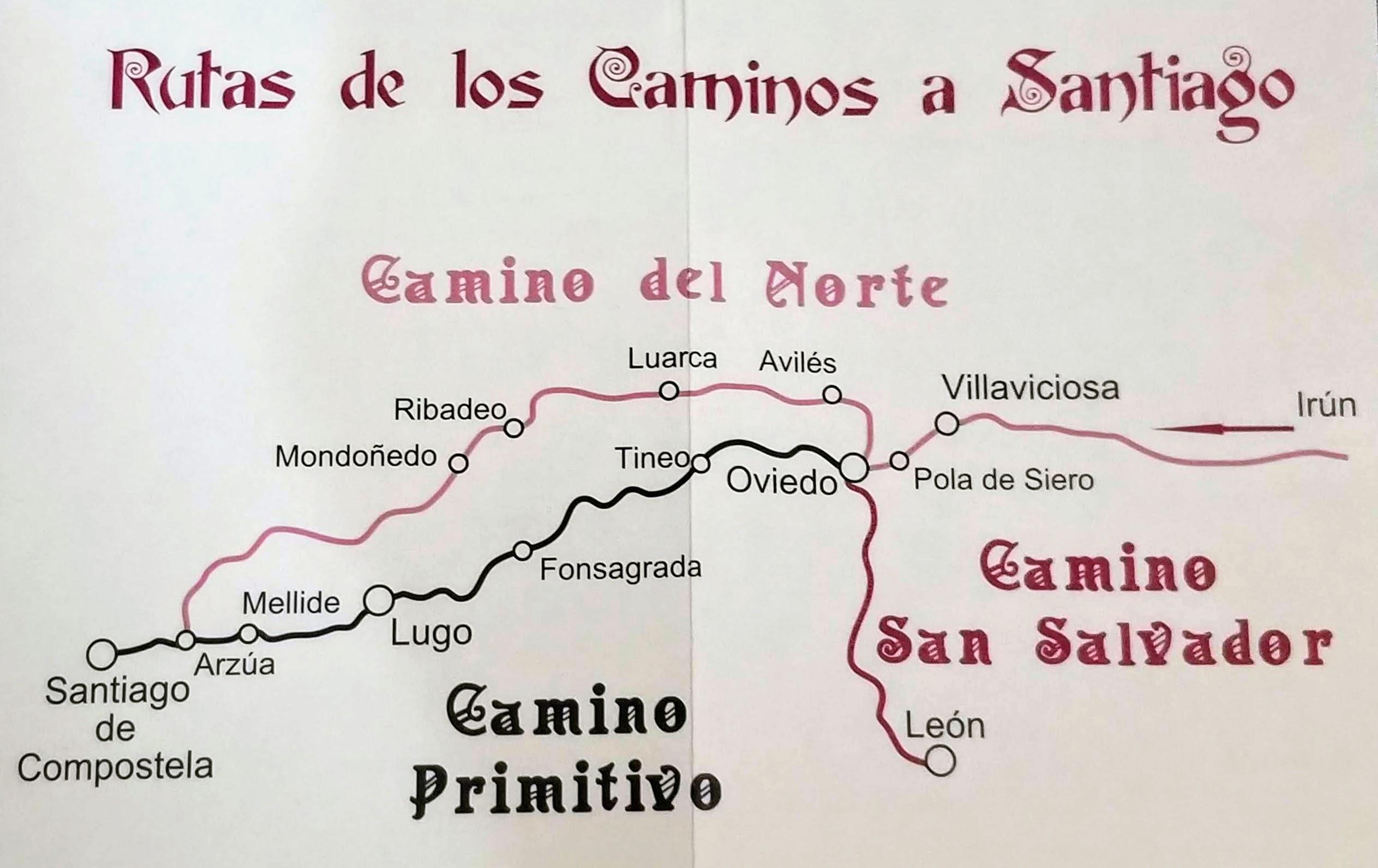 Caminos del Norte from the San Salvador Credential