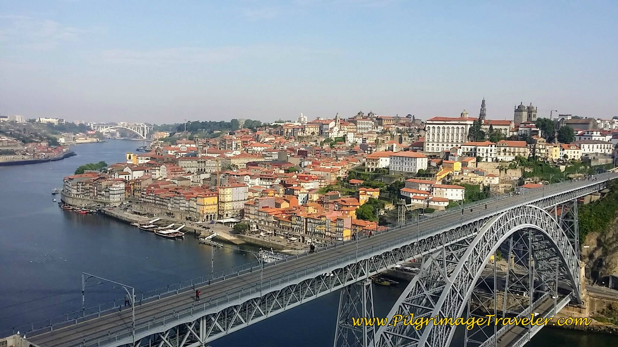A Bird's Eye View of Porto, Portugal