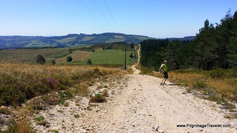 The Brutal, Long, Hot and Dry Afternoon Stretch of the eighth day on the Camino Primitivo