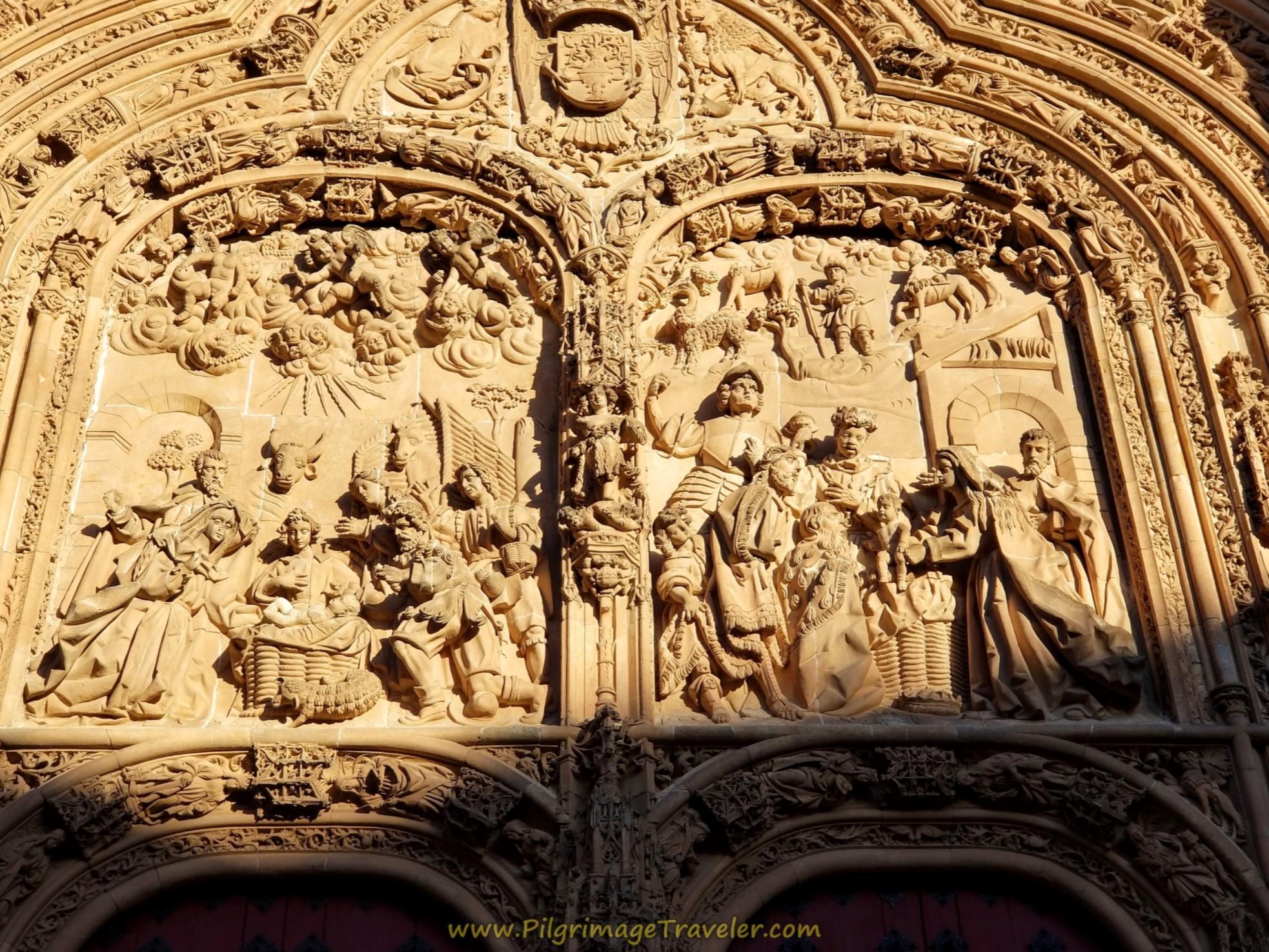 Catedral de Salamanca, West Door Close-Up