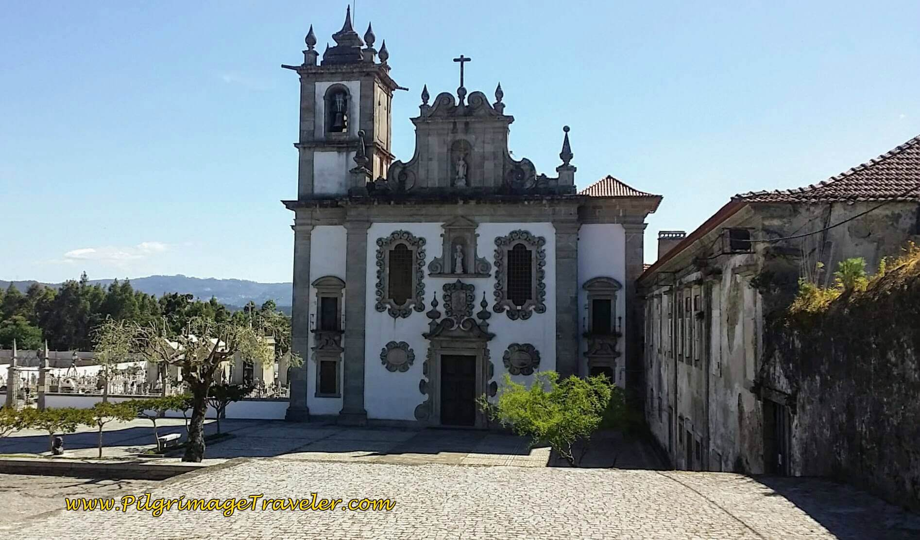 Mosteiro de São Romão do Neiva on day Seventeen of the Camino Portugués