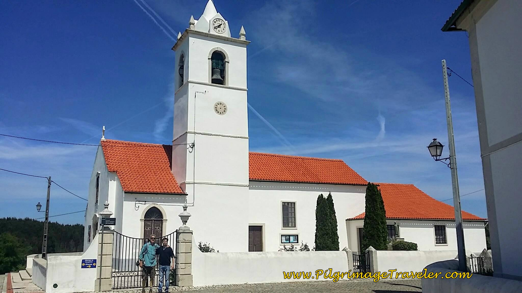 Prominent Church of Alvorge, Portugal