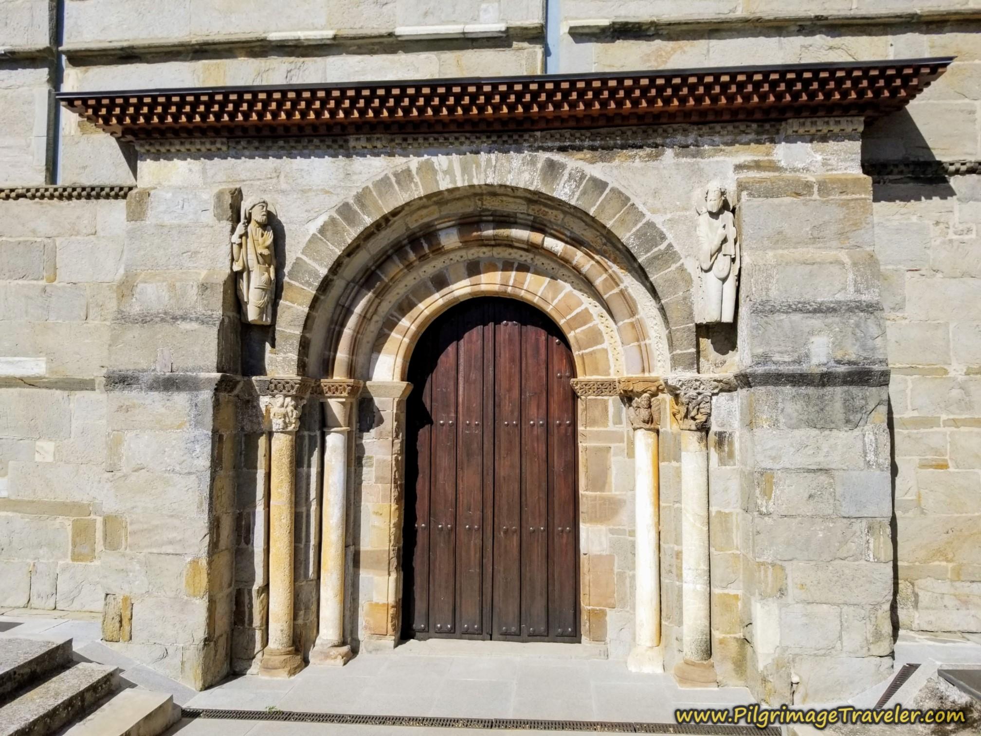 Rear Door of the Iglesia de Santa Marta de Tera